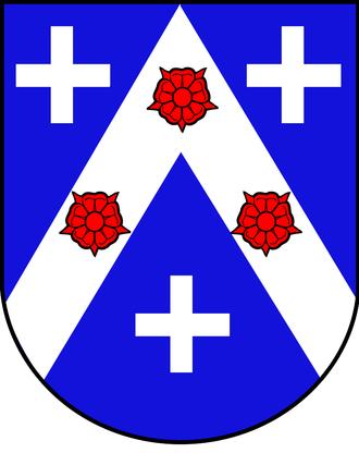 Chevron (insignia) - Image: Vaumarcus blason