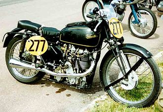 Velocette - Velocette KTT Mk VIII 350 cc OHC Racer 1948
