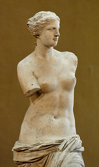Art history - Venus de Milo, at the Louvre.