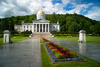 Vermont State House - The State House in June 2012