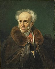Portrait of Jean Baptiste Isabey