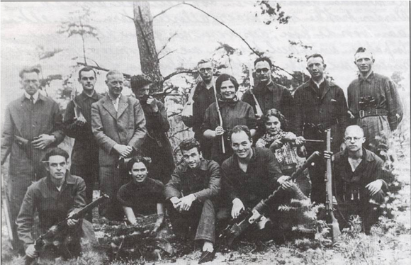 Resistance group operating near Dalfsen, Ommen and Lemelerveld Verzetsgroep Dalfsen-Ommen-Lemelerveld.png