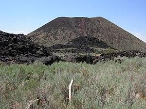 Holocene - Holocene cinder cone volcano on State Highway 18 near Veyo, Utah