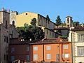 Via de' bardi (mattina), veduta su chiesa Santi Agostino e Cristina.JPG