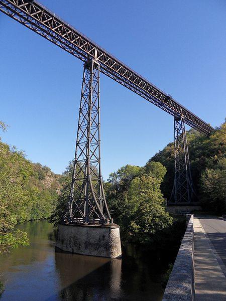 Viaduc de Rouzat,  (Inscrit, 1965)