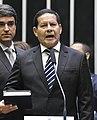 Vice-presidente da República, general Hamilton Mourão, lê compromisso constitucional (cropped).jpg
