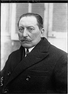 Retrato deVictor Mericdurante el Congreso Comunista de Marsella en 1921