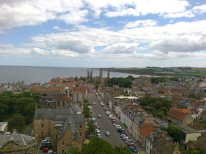 View from St Salvator's Tower