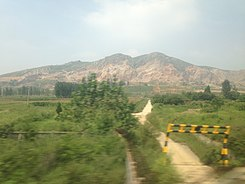 View near Panlong, Queshan, Zhumadian 2.jpg