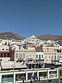 View of Ermoupoli (Syros island) from a ferry boat.jpg