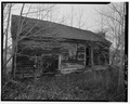 View of north elevation looking southwest - Hitchens Store, State Route 62, Whaleys Crossroads, Sussex County, DE HABS DEL,3-GRABR.V,1-2.tif