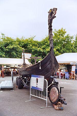 Nordic Heritage Museum - Viking ship at Viking Days 2012