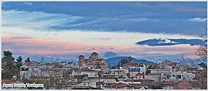 Agios Thomas, Boeotia - General view of Agios Thomas village in Tanagra Viotia, Greece