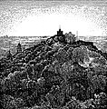 Vilnia, Zamkavaja hara. Вільня, Замкавая гара (K. Frantz, 1918).jpg
