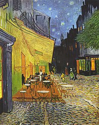 Vincent van Gogh: Cafe Terrace at Night