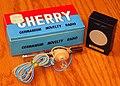 Vintage Cherry Germanium Novelty Radio, Made In Japan, Circa Late 1950s (48882752917).jpg