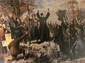 Vinzenz Katzler, The Takovo Uprising, 1862, Historical Museum of Serbia.jpg