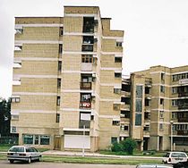 Visaginas-typical buildings 2004.jpg