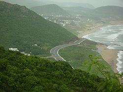Visakhapatnam, Beach Road from Kailashagiri.jpg