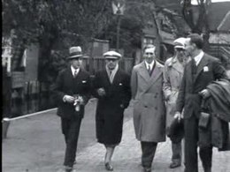 Bestand:Visit of Igor Stravinsky to the Netherlands 1930.ogv