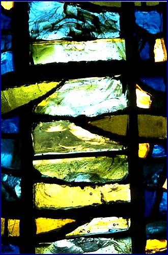 Dalle de verre - Image: Vitrail roccella b