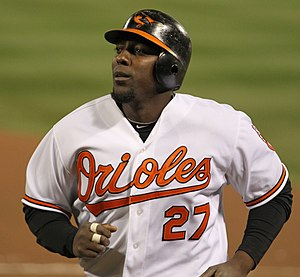 Vladimir Guerrero - Guerrero with the Baltimore Orioles in 2011