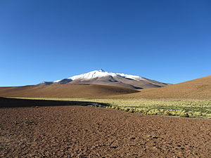 Tripoint - Image: Volcan Zapaleri Chile Bolivia Argentina