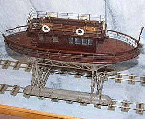 Magnus Volk - A proof of concept model of the Daddy Long Legs built by Magnus Volk himself.