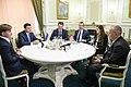 Volodymyr Groysman and Lawrence Summers in Ukraine - 2018 (MUS6912).jpg