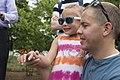 Volunteers with Monarch Teacher Network release butterflies in Arlington National Cemetery (28255278184).jpg