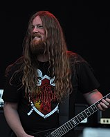 Vomitory, Urban Gustafsson at Party.San Metal Open Air 2013 02.jpg