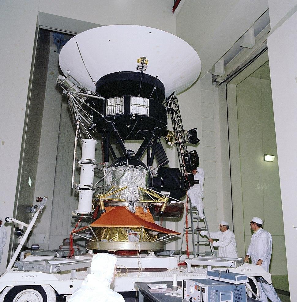 Voyager Testing 1976 PIA21732