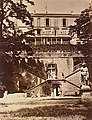 Vue extérieure des ruines du Château de Becon en 1870.jpg