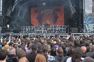 Accept live at Hellfest 2013