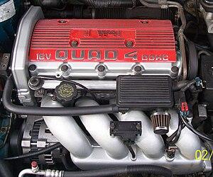 Quad 4 engine - A 2.3 L Quad 4 W41 engine