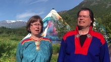 Fil:WIKITONGUES- Lene and Børre speaking Northern Sami.webm