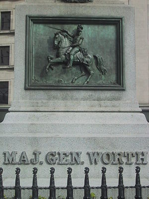 William J. Worth - Monument on Worth Square in Manhattan