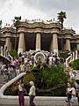WLM14ES - Barcelona Salamandra y escalera 404 23 de julio de 2011 - .jpg