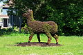 WPQc-223 Wendake - Sculpture Chevreuil.JPG