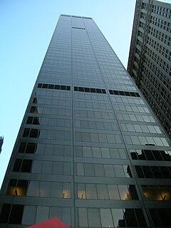 Marine Midland Building skyscraper in New York City