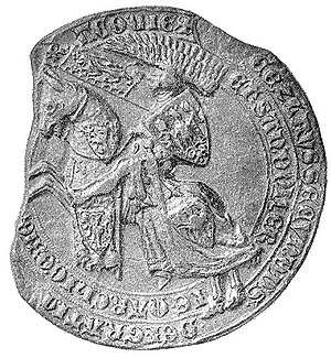 Wenceslaus II of Bohemia - Seal of Wenceslaus II