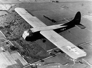 Military glider - Waco CG-4A of the USAAF