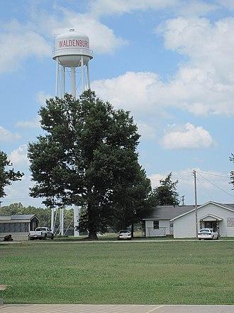 Waldenburg, Arkansas - Image: Waldenburg AR 011