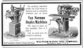 Waltham Watch Tool Co Van Norman advert in Machinery 1902.png