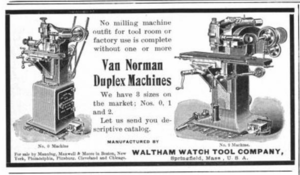 Van Norman - An advertisement from 1902.