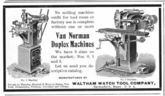 Van Norman - An advertisement from 1902.