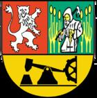 Das Wappen von Lauchhammer