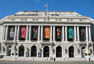 War Memorial Opera House - Image: War Memorial Opera House (San Francisco)