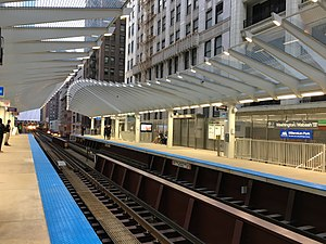 Washington/Wabash station - Image: Washington Wabash 02