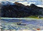 Wassily kandinsky-kochel - lake with boat.jpg